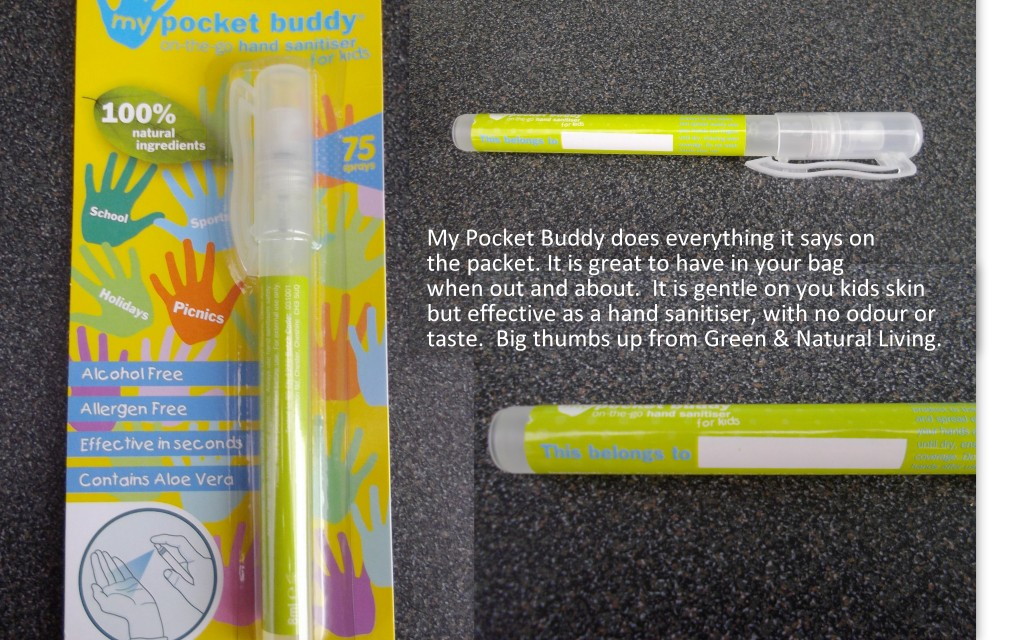 My Pocket Buddy Hand Sanitiser