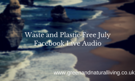 Waste and Plastic Free July