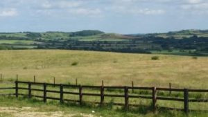 View from Redhill across the Wolds