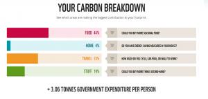 Carbon Breakdown my results 2018