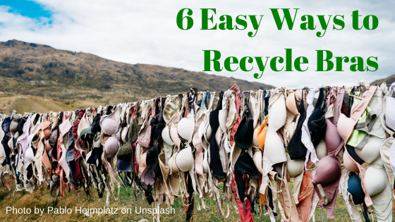 6 ways to recycle your old bras in the UK